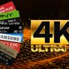 Tarjetas Micro SD 4K