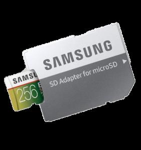 Samsung MicroSDXC EVO Select